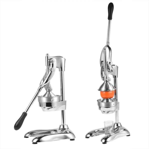 Buy the best heavy duty, commercial, hand held press, manual orange pomegranate citrus squeezer. Professional restaurant, industrial kitchen, bar, street shop. Hand operated traditional orange juicer for sale buy order online 304 stainless steel price reviews