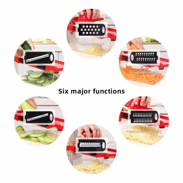Pro Chef Series™ 6-in-1 Mandoline Slicer