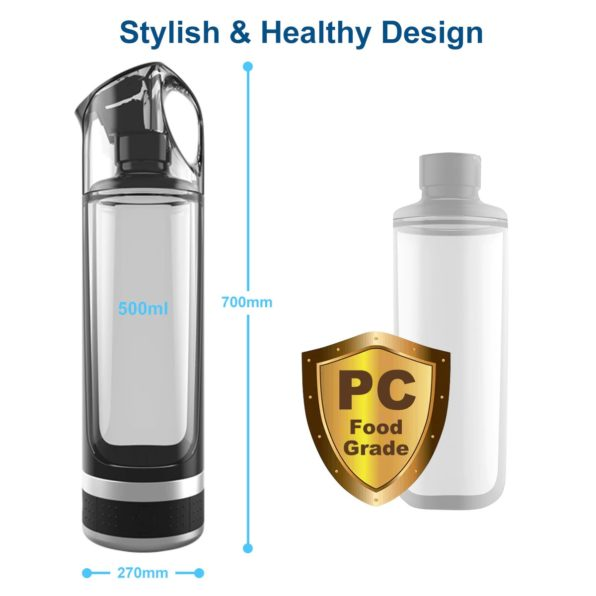 2021 New | Best Portable Molecular Hydrogen Infused Water Generator Bottle | 2021 SPE PEM Membrane Technology Healthy Alkaline Ionizer USB Rechargeable Device Travel & Home Machine. Buy Online Hydrogen Water Maker Machine, How to Make High Hydrogen Water Drinks at Home | Hydrogen Water Bottle Reviews for Best Price On Sale | Ships to USA Canada Worldwide Global Shipping | Purchase Order Amazon Best Buy Walmart Ebay Home Depot