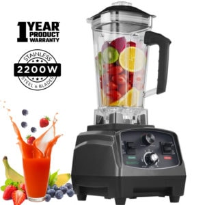 2200W 3HP Heavy Duty Fruit Blender Mixer, Food Processor 70 oz | Commercial & Home; Home |
