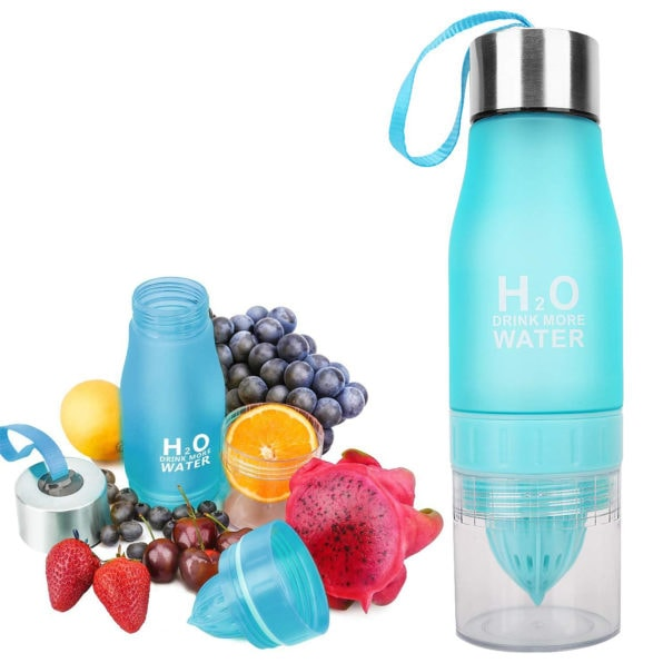 The H2O™ Drink More Water | Fruit Infuser Water Bottle 22 oz