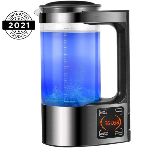Hydrogen Generator Water Pitcher & Bottle | Alkaline Water Ionizer Machine Large Size 70 oz