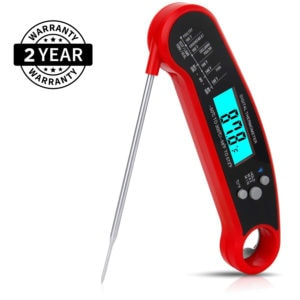 Waterproof Professional Instant Digital Meat Thermometer | Commercial & Home