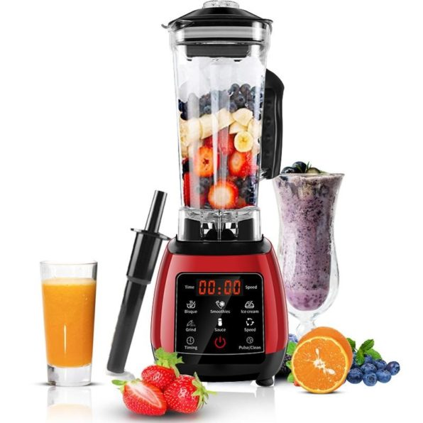 2200W 3HP Heavy Duty Fruit Blender Mixer, Food Processor 70 oz | Commercial & Home | New Touchscreen