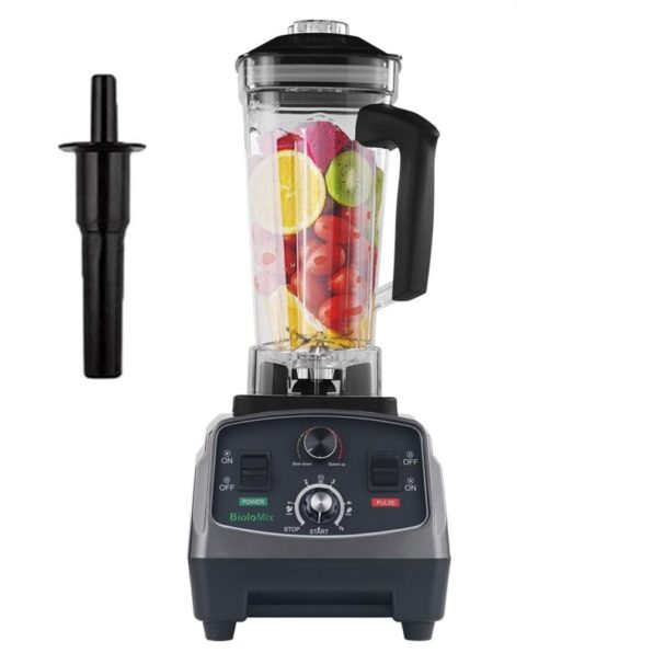 2200W 3HP Heavy Duty Commercial Fruit Vegetable Bar Blender Mixer | High Performance Professional Restaurant Food Processor | Ice Crusher & Smoothie, Shake Maker 2L Large Capacity Countertop High Speed Machine | Best Electric Kitchen Ninja Vitamix Blendtec Blenders Buy Online