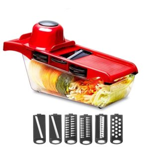 Pro Chef Series™ 6-in-1 Mandoline Slicer