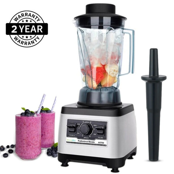 A8700 Heavy Duty 2200W 3HP Fruit Blender Mixer, Food Processor 70 oz | Commercial
