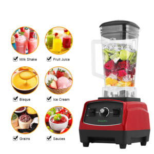 2200W 3HP Heavy Duty Commercial Fruit Vegetable Bar Blender Mixer | High Performance Professional Restaurant Food Processor | Ice Crusher & Smoothie, Shake Maker 2L Large Capacity Countertop High Speed Machine | Best Electric Kitchen Ninja Vitamix Blendtec Blenders Buy Online Commercial Blenders for Sale Price Reviews