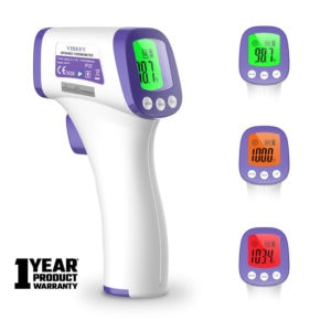 Digital Non-Contact Forehead Infrared Thermometer for Baby and Adults
