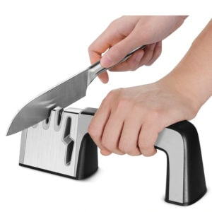 Professional 4-in-1 Diamond Coated Knife Sharpener